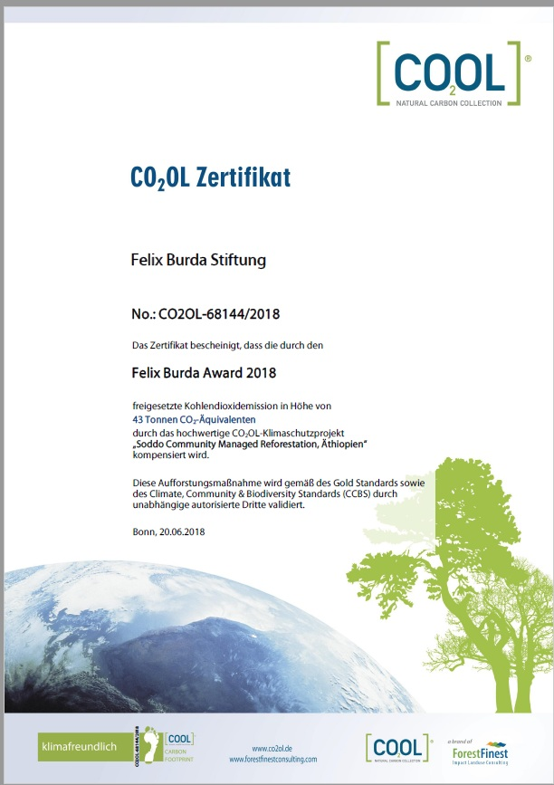 Urkunde co2 fba 2018
